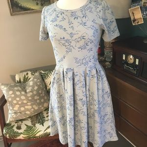 Blue LuLa Roe dress